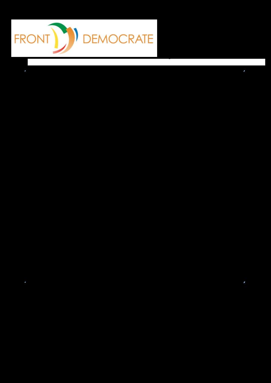 Bulletin d'adhésion FD - 2016